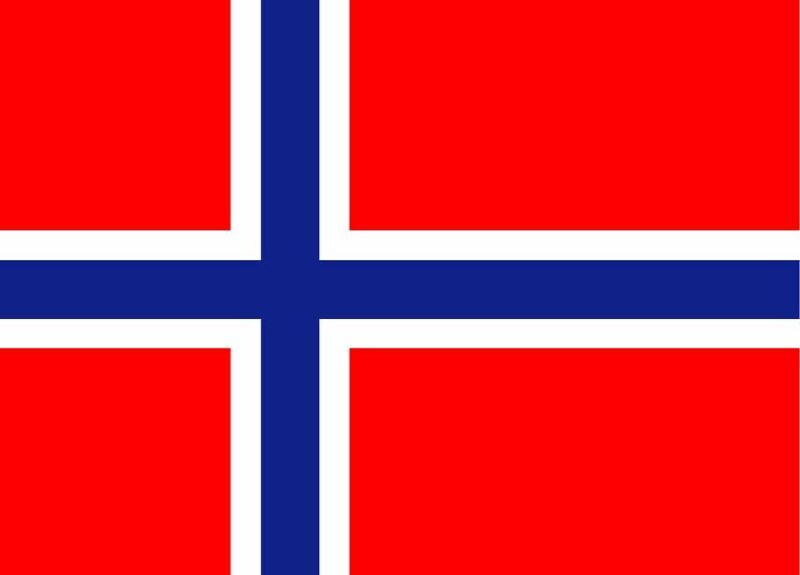 OUTBOUND Flag Of Norway 5x3