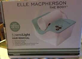 NEW BOXED Elle Macpherson The Body by Homedics IPL Hair Removal with Sensilight