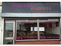 Shop Sign - Massala Express