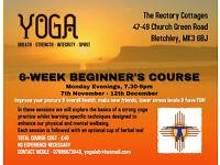 Beginner's Yoga Classes in Milton Keynes (7th November-12th December)