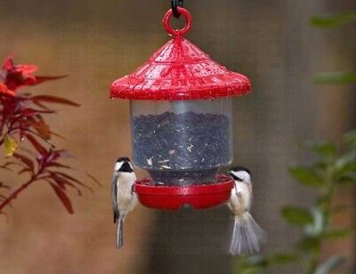 Songbird Essentials CLINGERS ONLY BIRD FEEDER (Red), FREE USA SHIPPING