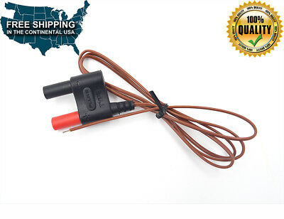 Fluke 80bk-a Type Mini K Thermocouple Temperature Integrated Dmm Probe Cable