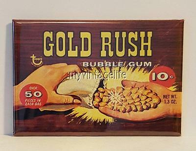 GOLD RUSH NUGGET BUBBLE GUM 2