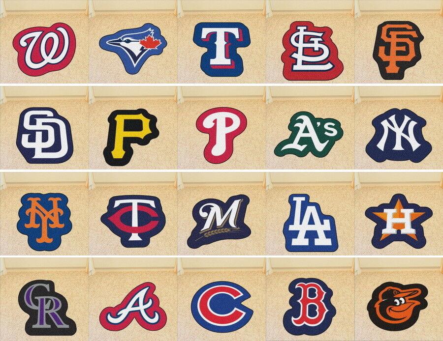 FANMATS MLB Mascot Mat Area Rug Choose Team