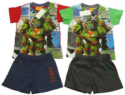 Jungen kurzarm Pyjama Ninja Turtles Sommer Kinder Schlafanzug - Ninja Turtles Schlafanzug