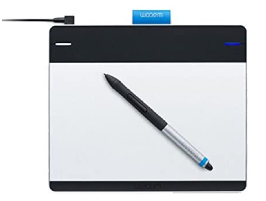 Wacom cth-480 intuos pen & touch, small tablette graphique ***presque neuve***