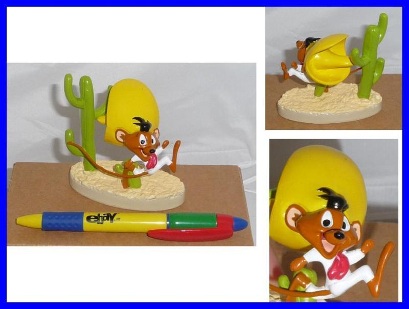 RARE Cute Figure SPEEDY GONZALES Looney Tunes ITALIAN DE AGOSTINI Serie MINT !!