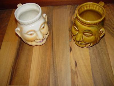 Vintage Hawaiian Tiki Mugs X 2 Kahiki style Tiki Mugs, used for sale  Waverly