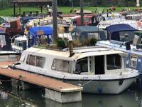 For Sale – 35ft x 12ft Norfolk Cruiser with Mooring in Keynsham Near Bristol / Bath