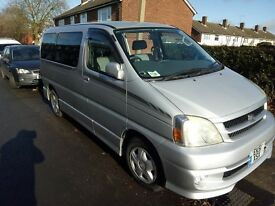 Toyota Hiace Touring, Auto,8 Seats,Built in Dvd,SatNav,BT,RevCam,DashCam&Lots more Extras.