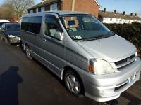 Toyota Hiace Touring 2.7 Petrol, 8 Seats, fully equipped, lots of extras fitted. Bargain.