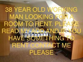 Room bedsit or one bedroom flat wanted