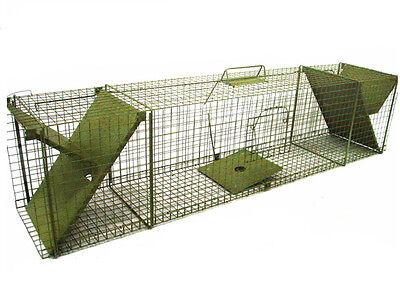 122 cm fuchsfalle Lebendfalle Katzenfalle Marderfalle Rattenfalle falle