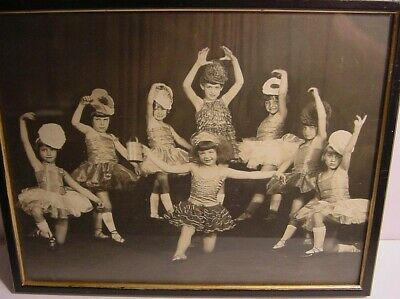 Vintage Girls Dance Group Photo-Portland Oregon-Named-Heim-Knowles-Costumes - Costumes Portland Oregon