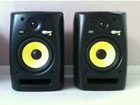 Krk rokit 6 studio monitors / speakers