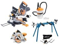 RAGE3-DB 255mm and RAGE 1B/ SAWS PLUS STAND/ & ACESSORIES/