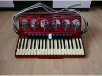 Parrot accordion