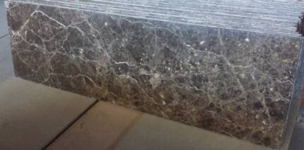 Coffee brown marble benchtop [2000x600 mm] Moorabbin Kingston Area Preview