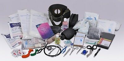 Emergency Trauma Kit Contents 200+ Medical Supplies Safety First Aid Survival