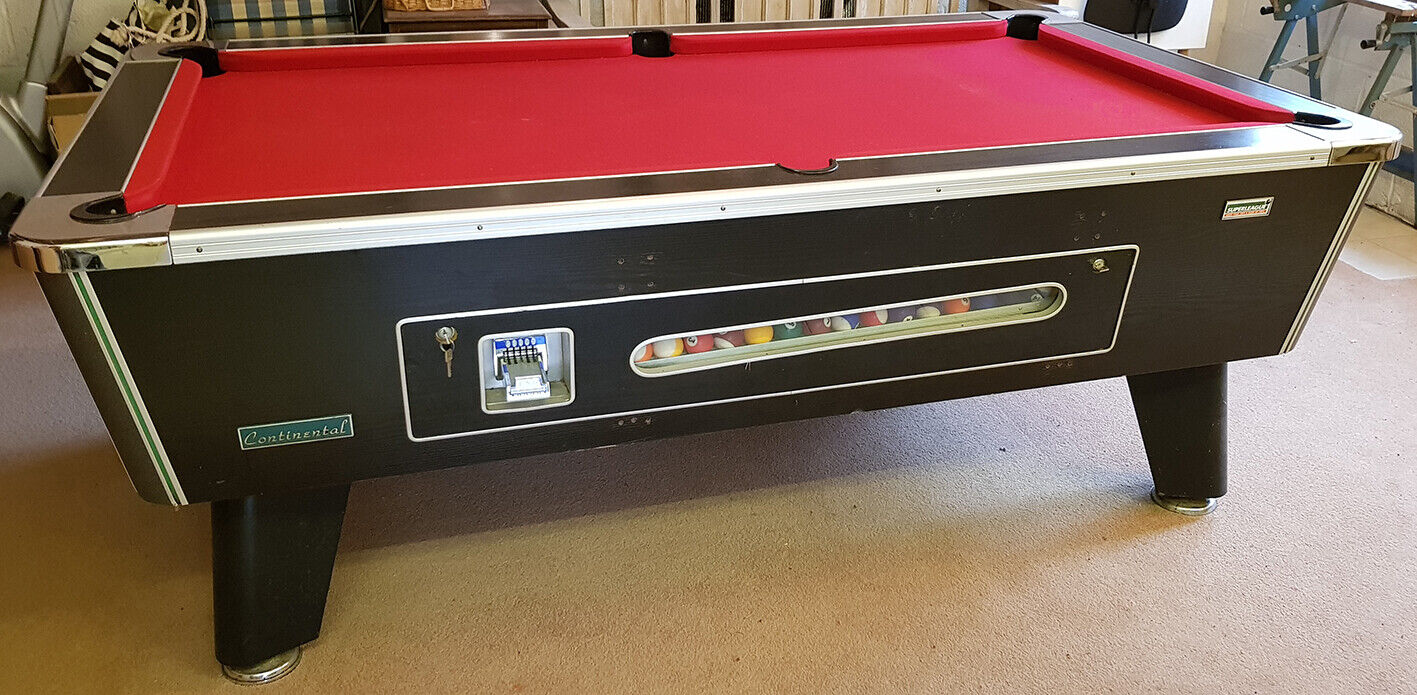 Superleague Continental 7ft slate bed Pool table