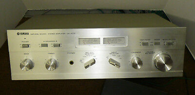 VINTAGE YAMAHA CA-410II INTEGRATED AMPLIFIER SERVICED EXCELLENT CONDITION  for sale  Shipping to South Africa