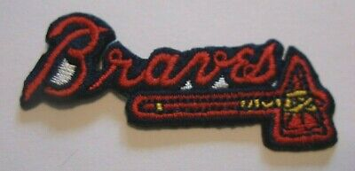 Atlanta Braves Embroidered PATCH~2 3/8