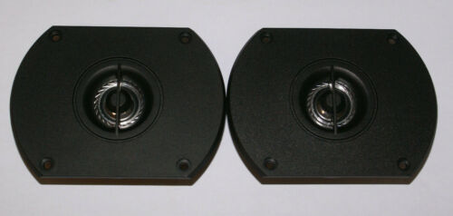 "1"" Mylar Dome Tweeters 8 ohm 1 Pair DIY Car or Home HQ NEW FREE SHIPPING"