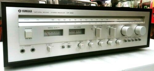 Vintage YAMAHA CR-840 Stereo Receiver  TESTED/ SERVICED/ WORKING !