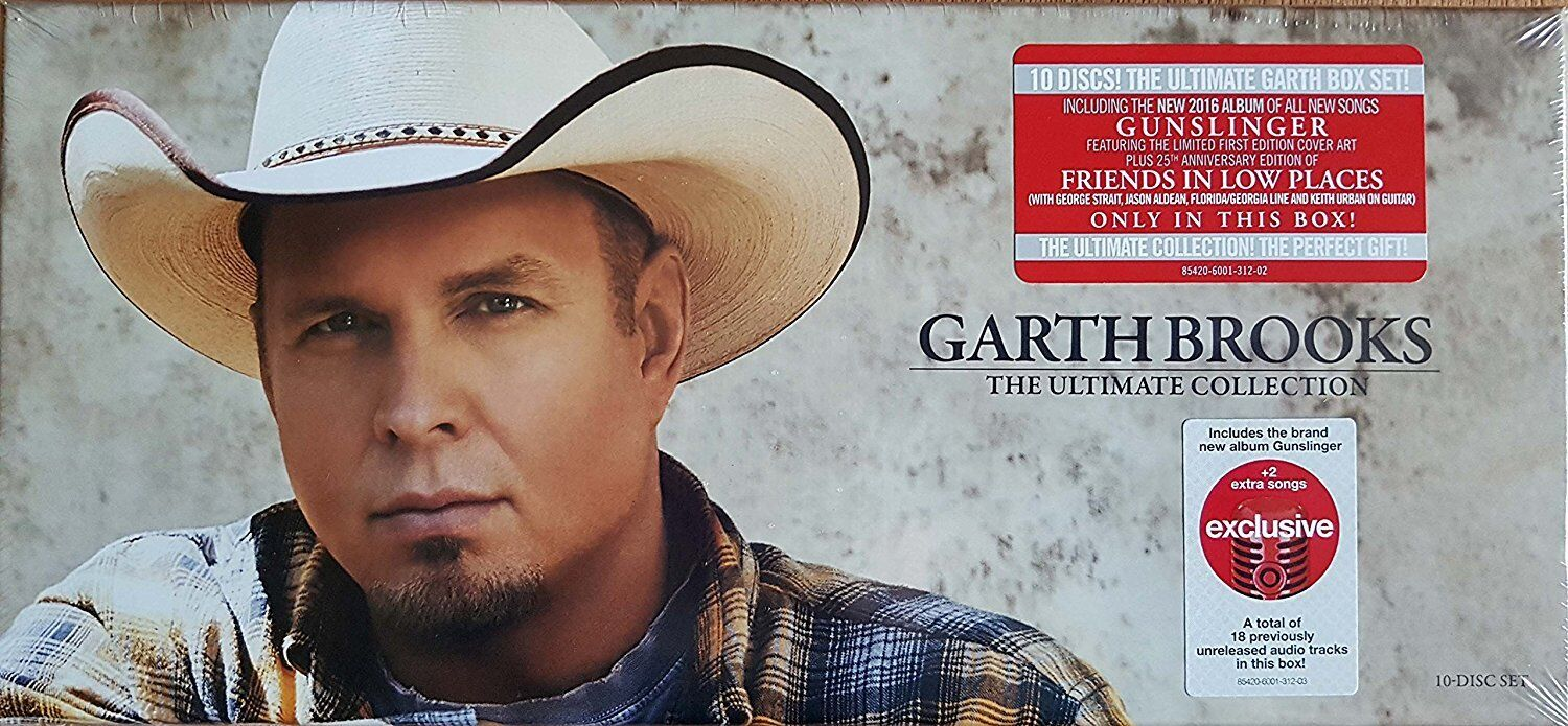 Изображение товара Garth Brooks - The Ultimate Collection Exclusive 10 CD Disc Box Set