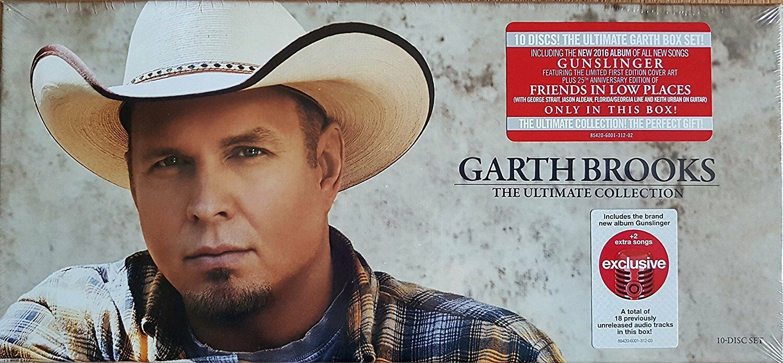 Купить Garth Brooks - The Ultimate Collection Exclusive 10 CD Disc Box Set