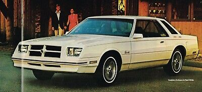 1981 Chrysler CORDOBA Brochure / Catalog with Color Chart: LS,Cabriolet.....NOS!