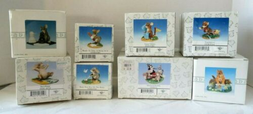 Vintage Fitz & Floyd/Dean Griff  Charming Tails Lot of 8- Games