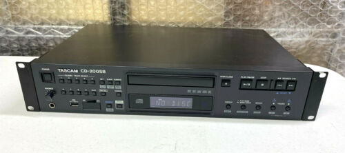 TASCAM CD-200SB CD Player and Recorder