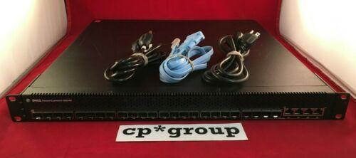 Dell PowerConnect 8024F 24-Port SFP+ Switch w/ 4-Port DP (RJ-45/SFP) Dual Power