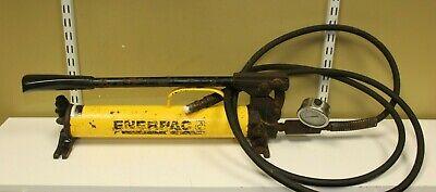 Enerpac P-39 Hydraulic Hand Pump W Hose
