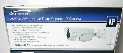 Speco Technologies 02lpr67 Ip License Plate Capture Network Camera Cta