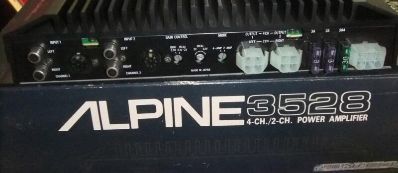 Alpine 3528 Wiring Diagram Amp | Wiring Diagram