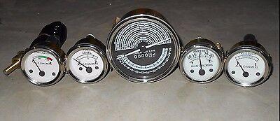 Allis Chalmers Gauge Kit D19 Diesel Gas Tachometer Temp Oil Pressure Fuel Amp