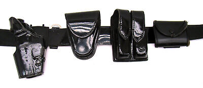 Gouldgoodrich Patton Leather Duty Belt 36 Sig 226 Dao Right Holster Complete A