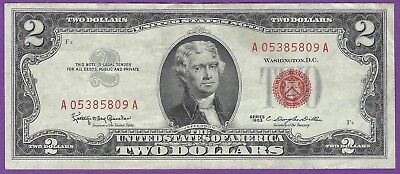 2 00 United States Note   1963   Granahan Dillon   A05385809a