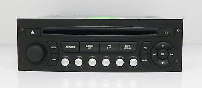 CITROEN C3 C8 PEUGEOT 207 RADIO CAR AUDIO AUTORADIO RD45 USB CEM 00 98053736XT gebraucht kaufen  Versand nach Germany