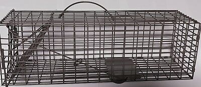 "Sure-fire Cage Live Trap 16""x5""x5"" Trapping rabbit Squirrel Chipmunk Rat"