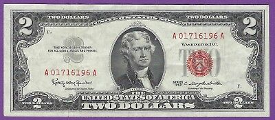 2 00 United States Note   1963   Granahan Dillon   A01716196a