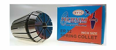 Techniks 14 Super Precision Er32 Collet .0002 Accuracy Cnc Chuck Mill