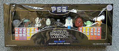 PEZ Star Wars - Collector Set - Limitierte Auflage NEU ! Folie defekt -9 Figuren