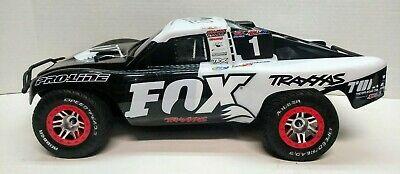 Traxxas Slash Platinum 4x4 Fox Edition Pre-Roller 1/10 w/ Blue Body GTR Shocks