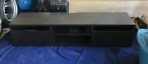 IKEA TV Bench BESTA with 2 Drawers