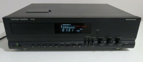 HARMON KARDON TD-420 TAPE / CASSETTE DECK WORKS PERFECT CD TRANSCRIPTION QUALITY