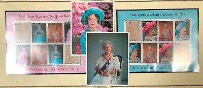 Nevis & Sierra Leone QE II 95th Birthday Issue 1995 MNH