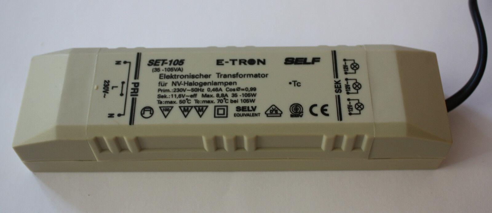 Halogen Trafo 105W 150W 12V AC Elektronischer Halogentrafo Transformator Treiber